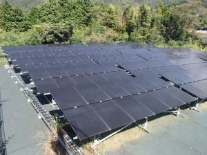 太陽光の泉南施工写真